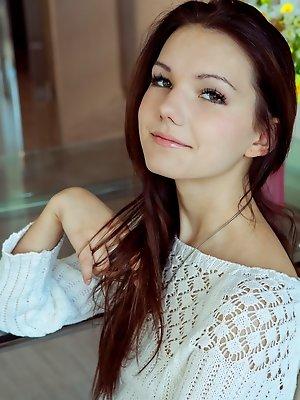 Horny skinny beauty